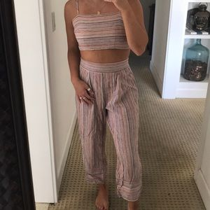 Forever 21 two piece jumpsuit
